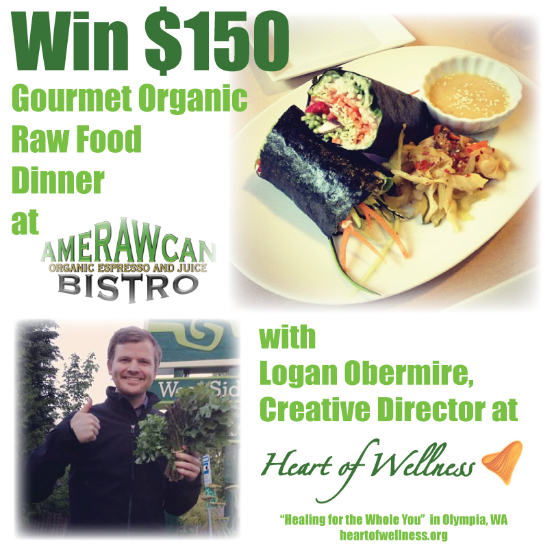 Organic Raw Food Giveaway