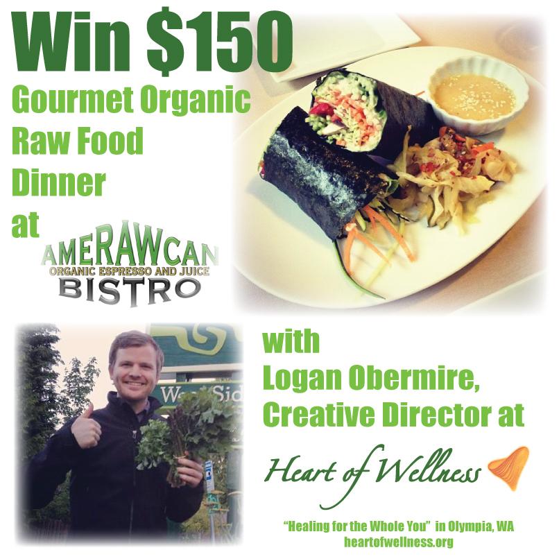 Organic Raw Food Giveaway