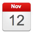 Date - Nov 12