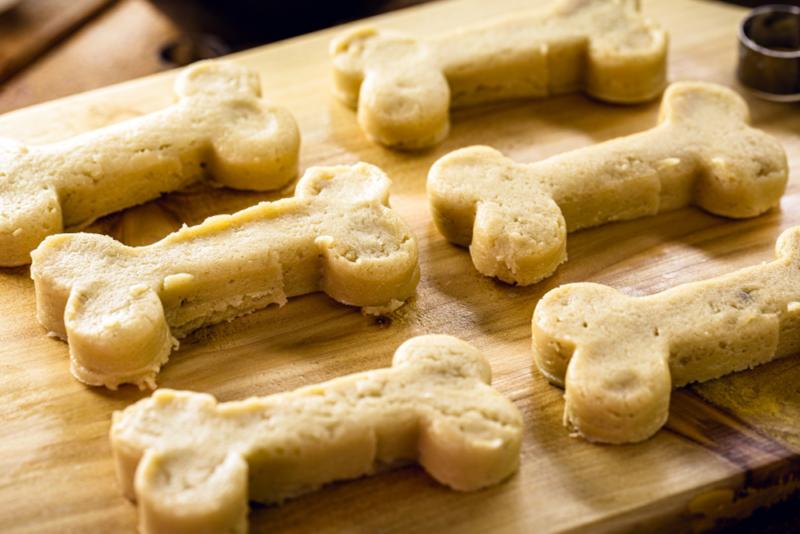 Fido's Homemade & Healthy Dog Treats with Sweet Potato, image of dog treats made from sweet potatoes